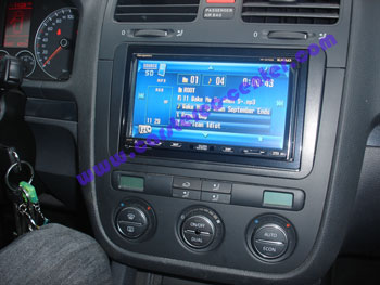 Radio  on Golf V Con Navigatore Jvc Kw Nx7000