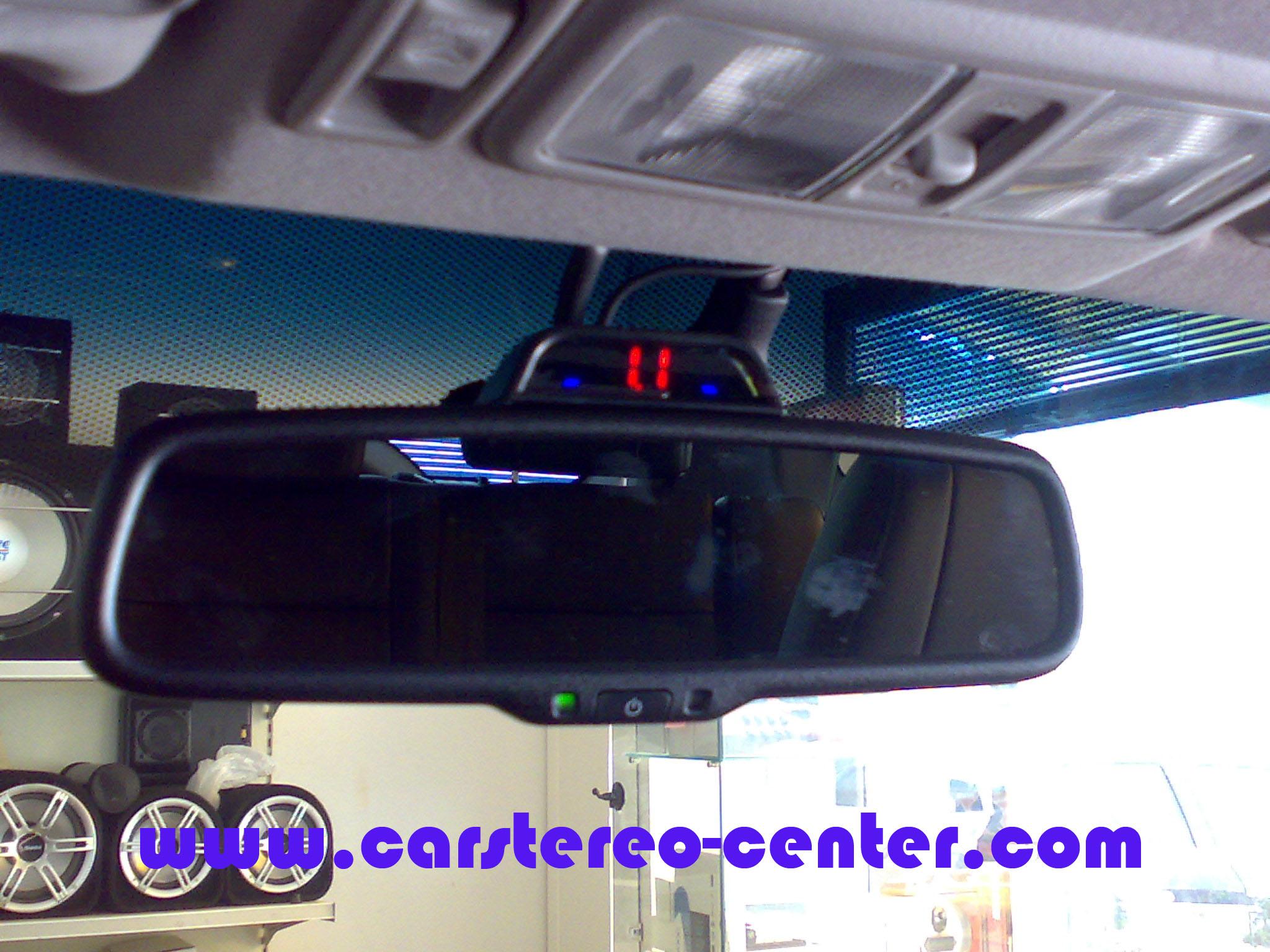 Sensori parcheggio digitaldynamic su pajero 39 07 - Lo specchio retrovisore centrale ...