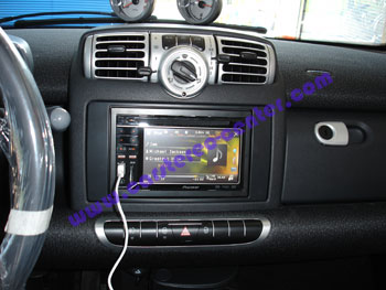 Pioneer avh p4400bh car 2 din dvd/cd/ipod/ player/receiver hd radio on popscreen