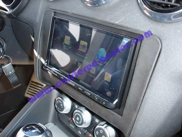 Kenwood dnr8025bt su audi tt con telecamera e subwoofer - Impianto stereo per casa bose ...
