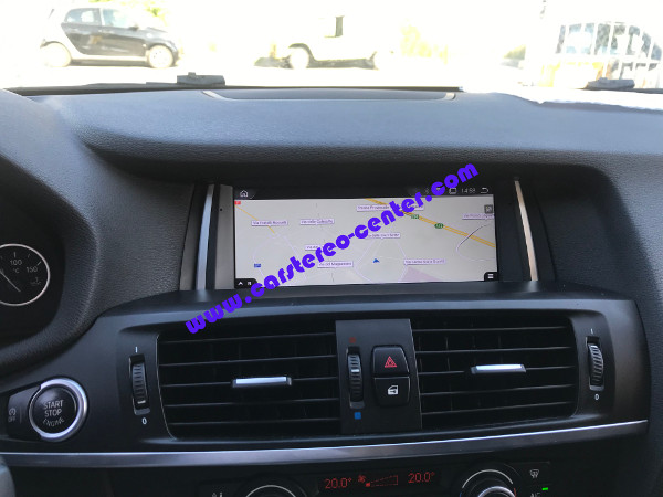 Navigatore Android per BMW X3