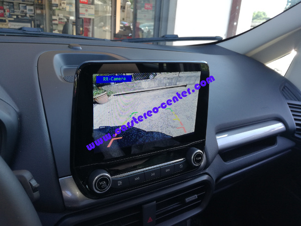Ford Ecosport con retrocamera after market