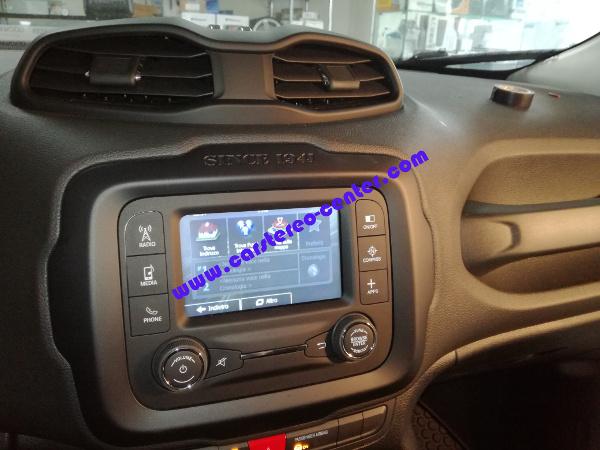 Car Stereo Shop >> Jeep Renegade con Sensori di Parcheggio