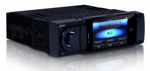 iphone car radio autoradio o car nata per l iphone 8012