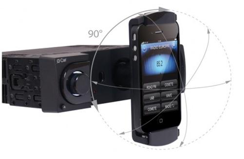 autoradio o car nata solo per l 39 iphone. Black Bedroom Furniture Sets. Home Design Ideas