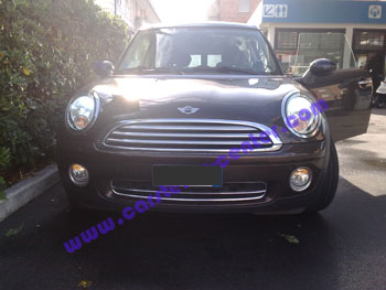 Mini con fari Xenon after market SuperXenon