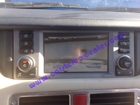 TV digitale su Range Rover Vogue
